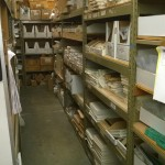Stock Room Custom metal work area